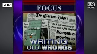 Clarion Call: The Reinvestigation of Civil Rights-Era Crimes