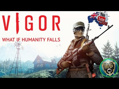 Vigor 🥽 Live Game Play - Shoot, Loot an Build