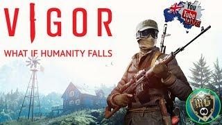 Vigor 🥽 Live Game Play - Shoot, Loot an Build