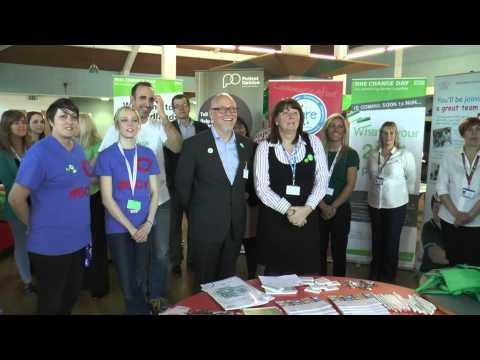 NHS Change Day Regional Event Hosted By Chesterfield Royal Hospital