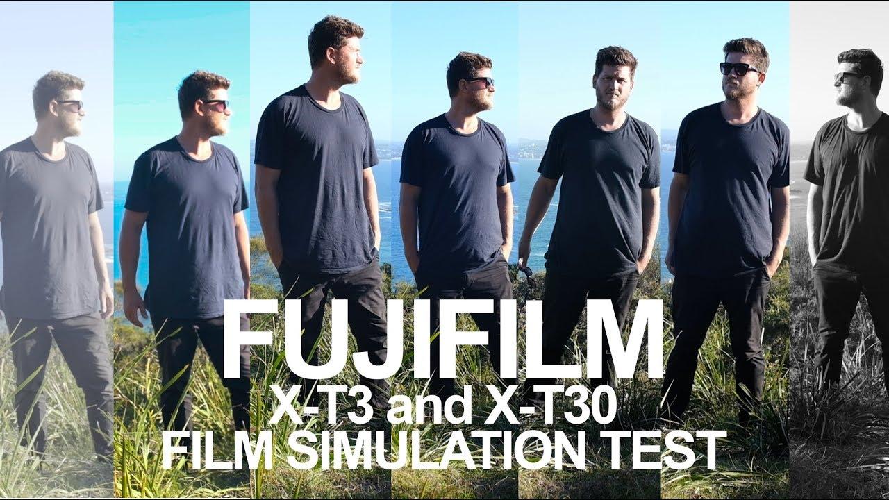 FujiFIlm X-T3 and X-T30 In Camera Film Simulation - Picture Profiles