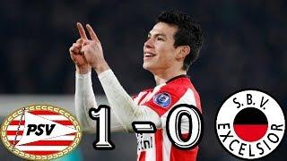 PSV vs EXCELSIOR (RESUMEN 07/02/2018)