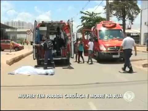 Mulher morre em rua de Taguatinga