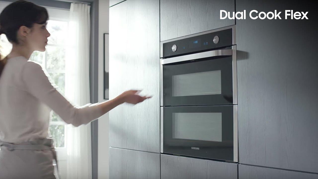 samsung dual cook flex youtube. Black Bedroom Furniture Sets. Home Design Ideas