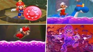 Evolution of Poison Levels in Super Mario Games (2002 - 2019)