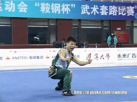 12th All China Games Men's Nanquan - Liu Huan (Hubei)