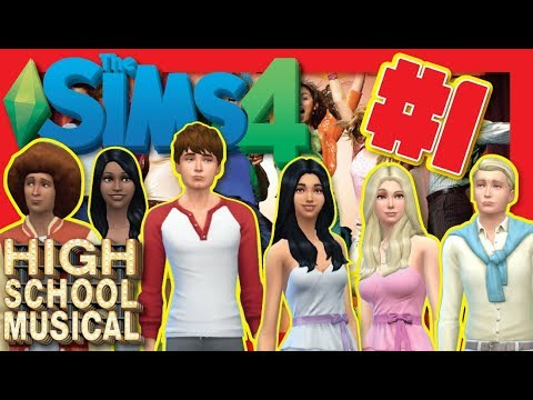 Sims 4 | High School Musical Challenge | Create A Sim | PC Gameplay