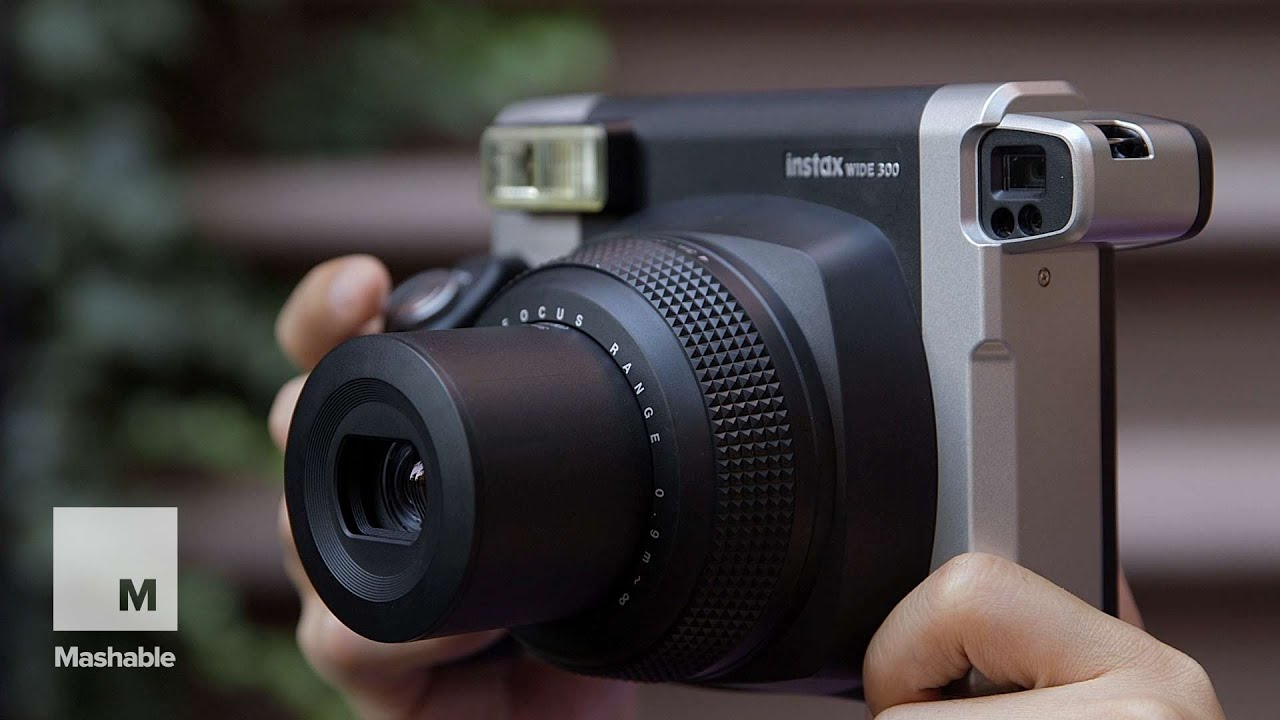 a love affair with the fujifilm instax wide 300 mashable tech youtube. Black Bedroom Furniture Sets. Home Design Ideas