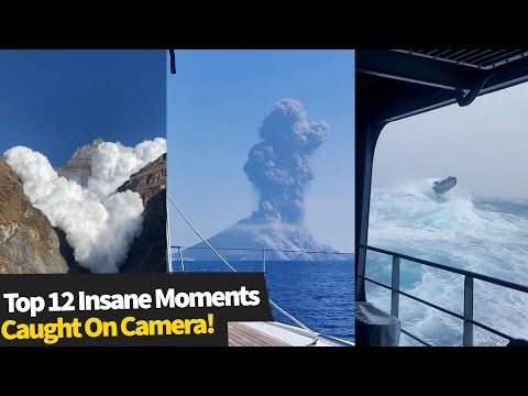 Top 12 INSANE Moments Caught On Camera