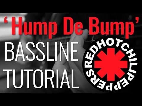 Bass Tutorial  Fleas Bassline on Red Hot Chili Peppers Hump de Bump