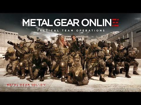 Watch 10 minutes of Metal Gear Online in action