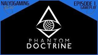 PHANTOM DOCTRINE, Gameplay Episode 1 - Character Creation & Tutorial (PS4, Xbox, & PC)