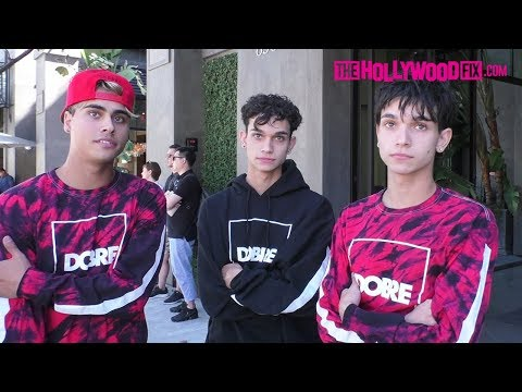 The Dobre Brothers Show Off Their New Cars & Speak On Jake Paul At Urth Caffe 10.4.17
