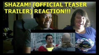 SHAZAM! (OFFICIAL TEASER TRAILER) - REACTION!!!!!!!