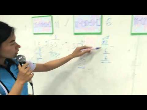 ทดลองสอนวิชาคณิตสาสตร์ เรื่อง กาบวก ลบ คูณ หาร ละคน ป.2