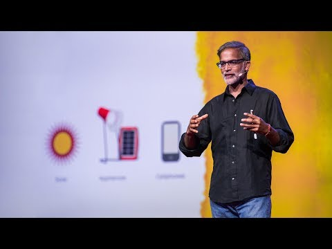 The thrilling potential for off-grid solar energy | Amar Ina