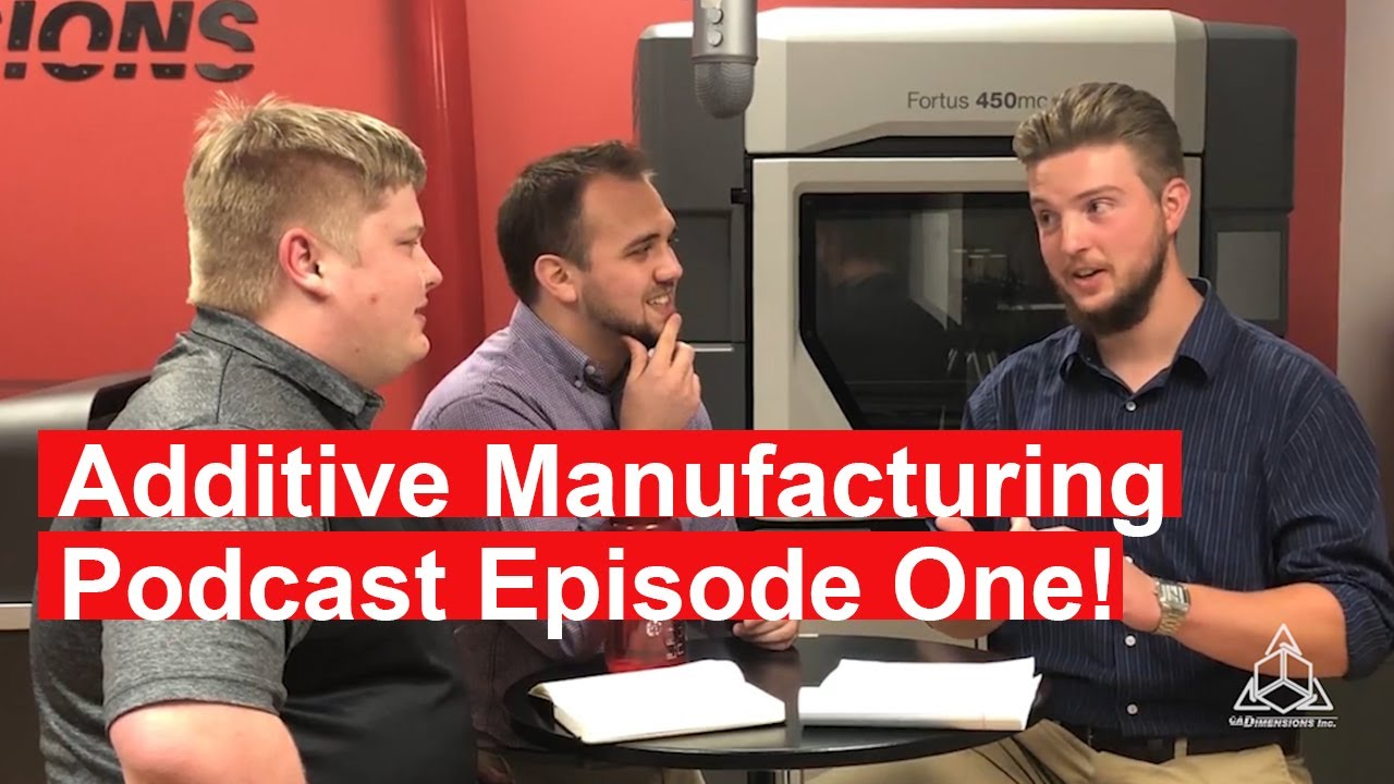 Metal 3D Printing - Printing in Concrete - DLP Improvements: AM Podcast Episode 1