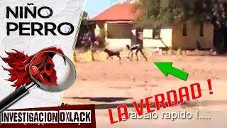 REVELAN VIDEO DE UN SER MITAD PERRO MITAD HUMANO LA VERDAD @OxlackCastro