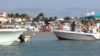 Sandbar in Stuart Florida