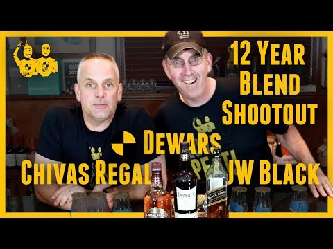 Blended 12 Year Scotch Shootout with Chivas Regal, Dewars, and Johnnie Walker Black Review #323