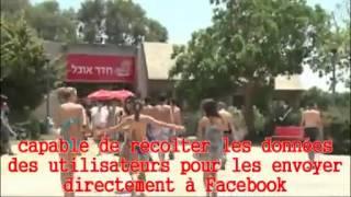 Un bracelet RFID connecté avec Facebook dans un camp Coca Cola en Israël