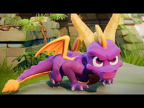 Spyro Reignited Trilogy PS4 - 120% Playthrough en Español 2018 [1080p]