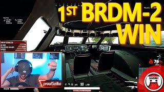 First 😱BRDM-2😱 Win - PUBG PS4 Pro Solo Live Stream with a Special