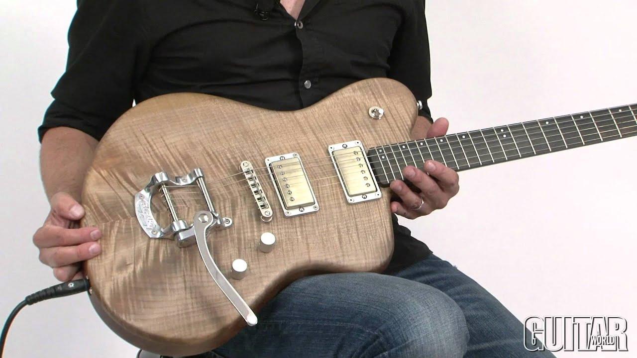 Henman MOD Electric Guitar - YouTube