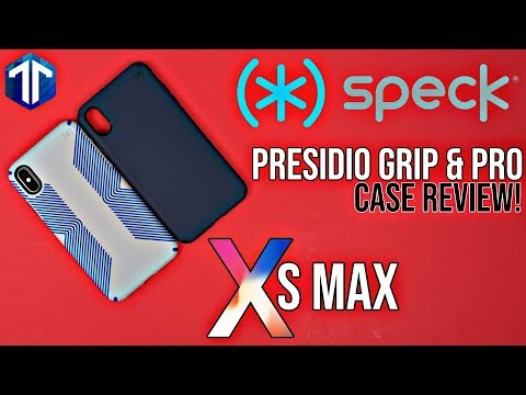 iPhone XS Max Speck Presidio Pro & Grip Case Review!