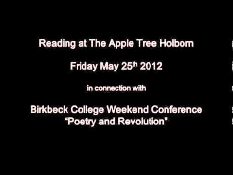 Birkbeck reading Tom Leonard