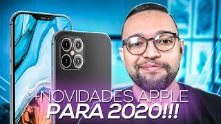 iPHONE 12 com DATA de LANÇAMENTO VAZADA! VEM CONFERIR ESSA e OUTRAS NOVIDADES da APPLE para 2020!