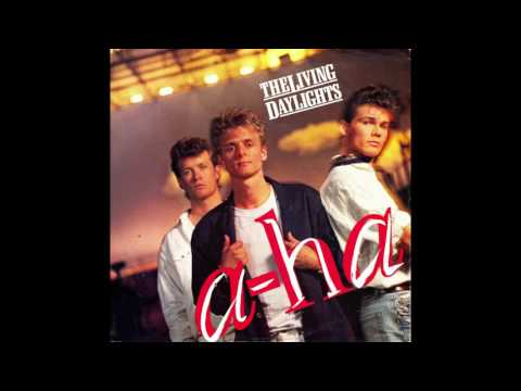 "A-ha – ""The Living Daylights"" (instrumental) (Warners) 1987"