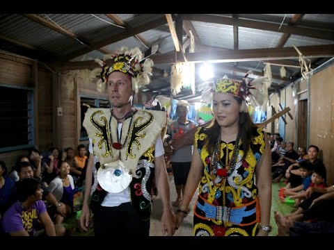 Long Banga Sarawak: Karl and Angie's Wedding