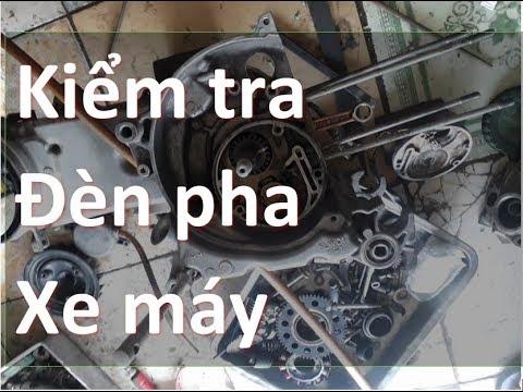 Sửa Xe Cùi Bắp_kiểm Tra Mạch đèn Pha Xe Máy