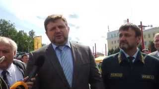 Никита Белых ответил, почему всероссийские соревнования по валке леса проводятся в Кирове(, 2014-06-20T08:07:25.000Z)