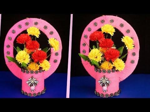 Cardboard Flower Vase Ideas