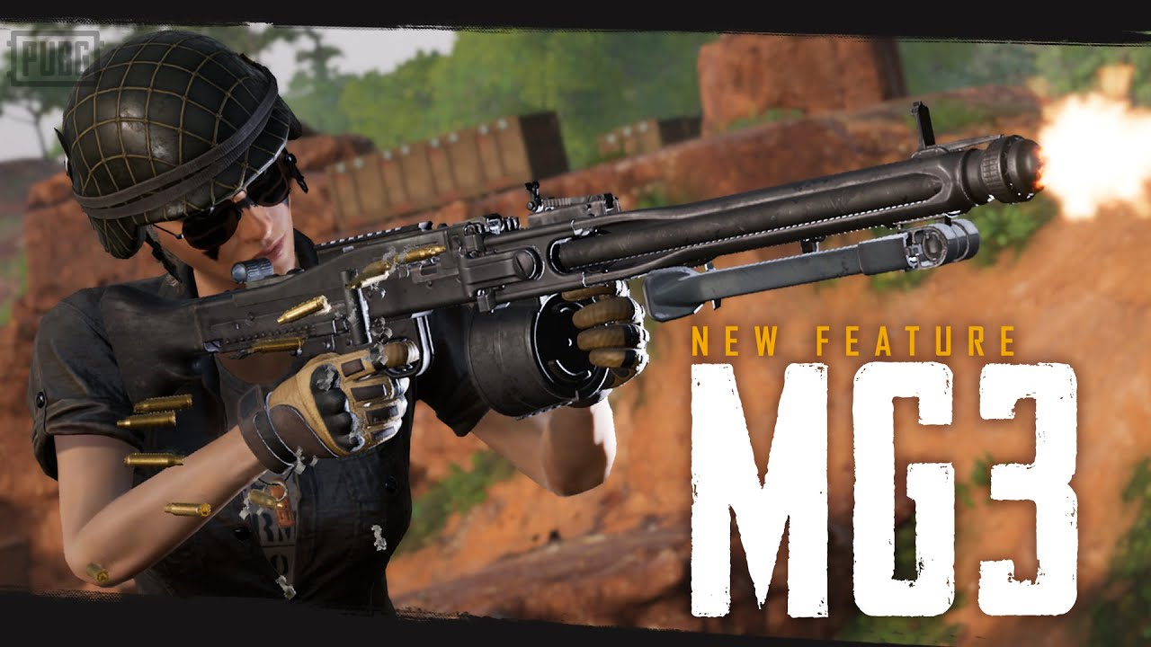 New Feature - MG3 | PUBG thumbnail