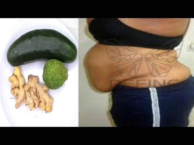 ONLY 3 INGREDIENT REMOVE STOMACH FAT REALLY SIMPLE TRICK #1
