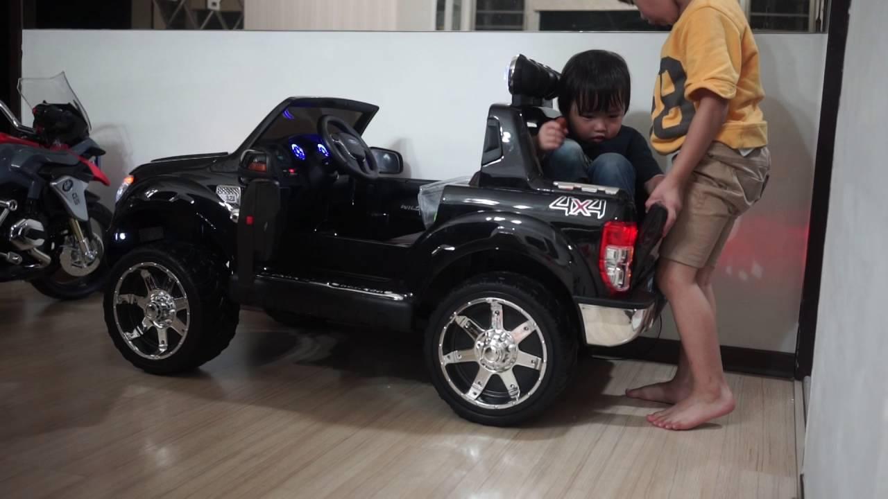 2016 Ford Ranger >> 福特FORD Ranger 浪久~兒童大型電動車-姚小鳳 - YouTube