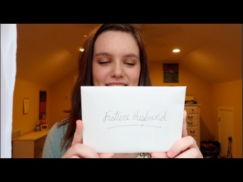 Reading Embarassing Letter to My Future Husband