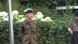 Jever - Beförderung eines Soldaten