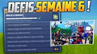 PROCHAIN DEFIS DE LA SEMAINE 6 ET SON PALIER CACHÉ SUR FORTNITE ! (Fortnite Battle Royale)