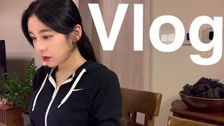 [vlog] 대학생 브이로그   야매 쿡방   과제의 늪   티라미수 난 사먹는다 ,,,  백종원 계란밥   찜닭   5일 브이로그   수어 교양