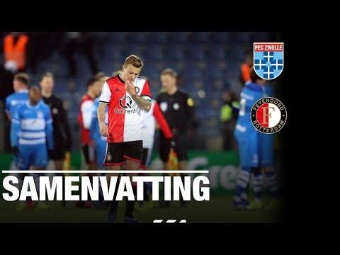 Samenvatting | PEC Zwolle - Feyenoord 2018-2019