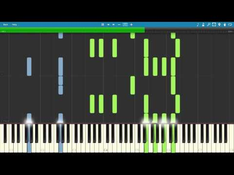First Step - Intersellar - Hans Zimmer [Piano Tutorial] [Synthesia] [DOWNLOAD] [4K 60FPS]