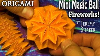 Origami Mini Magic Ball Fireworks