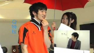 「東京俳優市場2010春」第2話から青地洋さんのインタビューです。