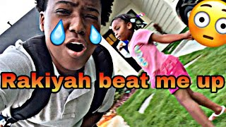 I got beat up by a 4 year old 😱👧🏽(crazy vlog) *must watch*