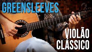 Greensleeves - Daniel Miranda (como tocar - aula de violão clássico)