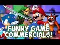 FUNNY VIDEO GAME COMMERCIALS